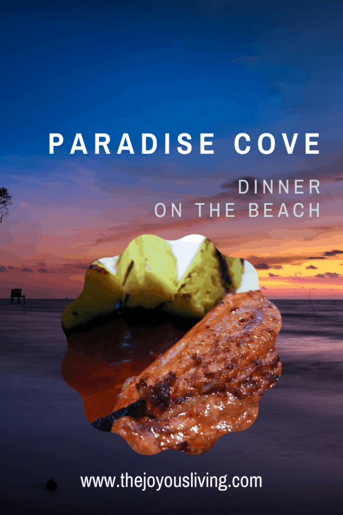 where should you take out of town guests to eat in Malibu? #malibu #paradisecove #dinneronthebeach #beachfrontrestaurant #thejoyousliving #food #restaurant