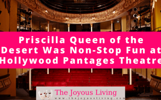The Joyous Living: Priscilla Queen of the Desert Was Non-Stop Fun at Hollywood Pantages Theatre