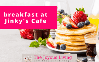 The Joyous Living: Breakfast at Jinky's Cafe