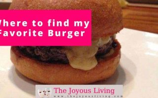 The Joyous Living: Where to Find My Favorite Burger, Umami Burger