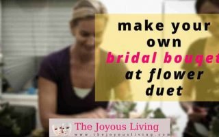 The Joyous Living: Make Your Own Bridal Bouqet with Flower Duet