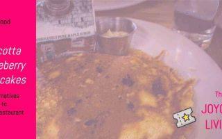 The Joyous Living: Ricotta Blueberry Pancakes based on BLD Restaurant