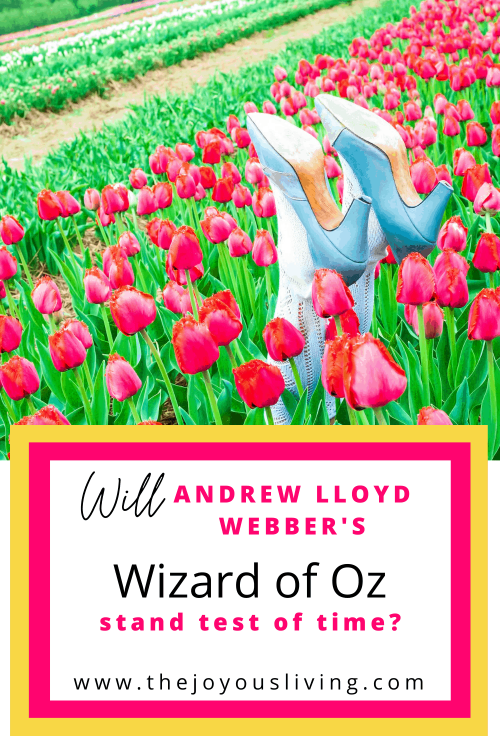 Did you know Andrew Lloyd Webber wrote music for a new version of The Wizard of Oz musical? Review of Andrew Lloyd Webber's musical The Wizard of Oz with Danielle Wade and Jacquelyn Piro Donovan. The Wizard of Oz musical has a makeover with new songs by Andrew Lloyd Webber. #andrewlloydwebber #thewizardofoz #musicaltheatre #thejoyousliving