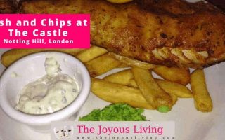 The Joyous Living: Fish and Chips at THE CASTLE Portobello