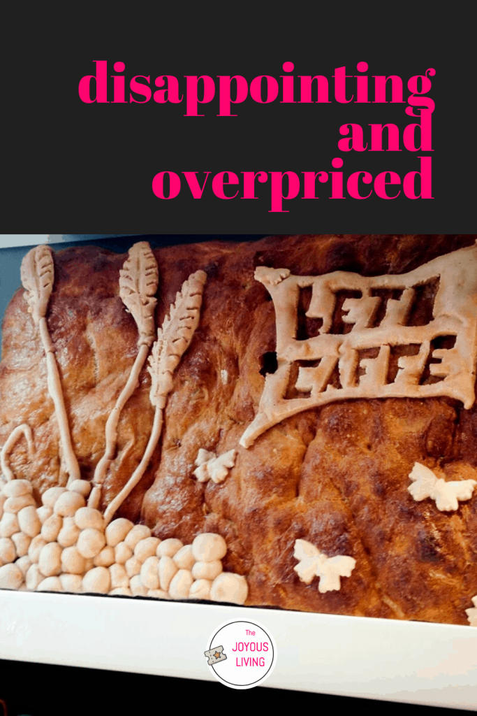 A review of my disappointing visit to L'eto Caffe in London #letocaffe #cafe #london #kingsroad #food #restaurant #review #thejoyousliving #travel
