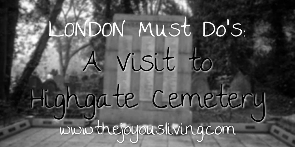 The Joyous Living Highgate Cemetery East