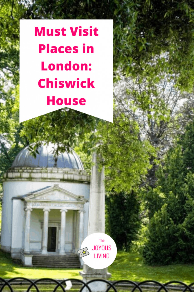 What is on your must visit list for London? #london #travel #historicalhouse #gardens #chiswickhouse #chiswickgardens #thejoyousliving