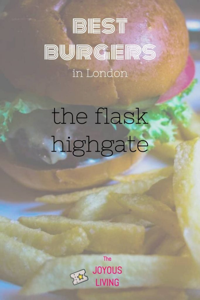 Who makes your favorite British burger? #burger #pub #highgate #london #theflask #fullers #food #foodblogger #thejoyousliving