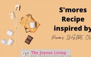 The Joyous Living: S'mores Recipe from Pixar's Inside Out