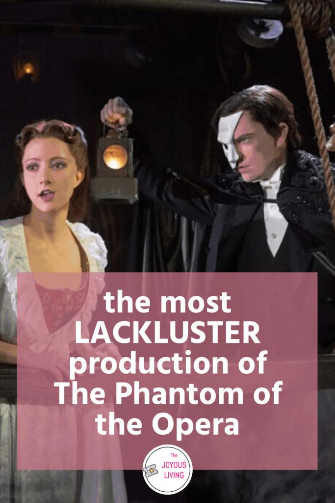 Where's the passion? #thephantomoftheopera #phantomoftheopera #poto #andrewlloydwebber #musical #thevoice #theater #theatre #broadway #phantom #thejoyousliving