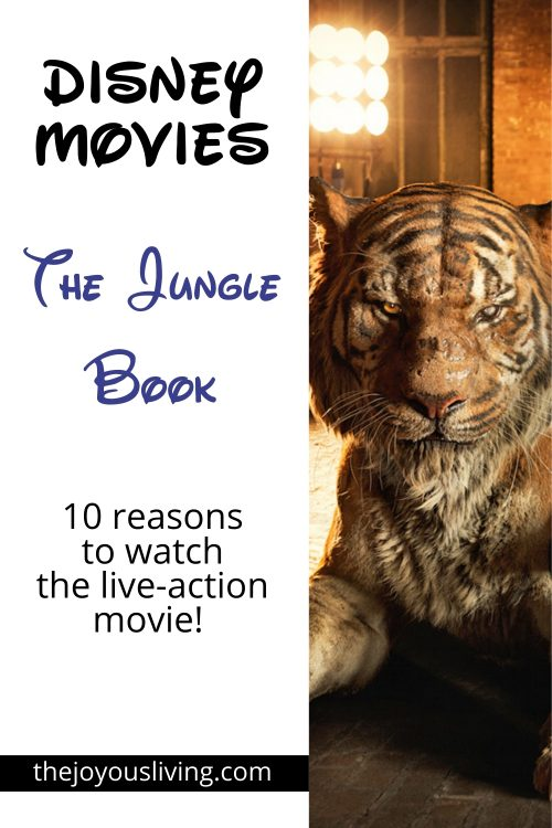 10 reasons to watch the live-action JUNGLE BOOK Movie