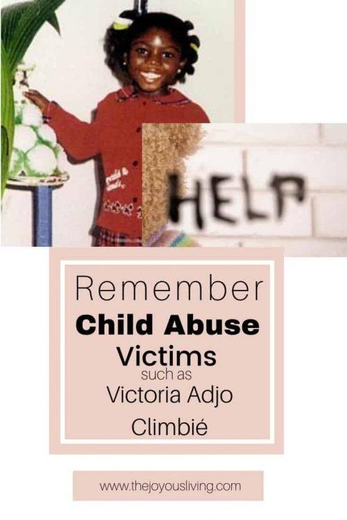 Child Abuse Victims. Victoria Adjo Climbié