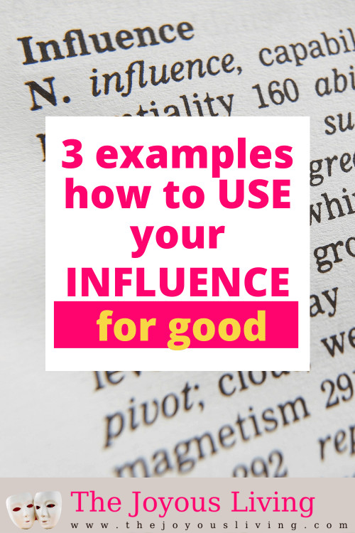 How can you use your influence for good? Examples of celebrities who've used their influence for good. Ways influencers can give back. #givingback #influencer #thejoyousliving