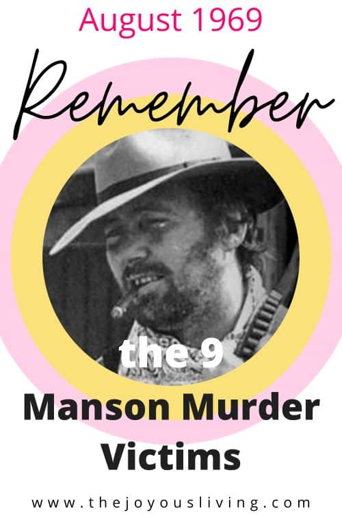 Remembering the Charles Manson murders victims. Remembering Donald Shorty Shea. The last of the Manson Family murders was Hollywood actor and stuntman Donald Shorty Shea on August 26, 1969. #mansonmurders #helterskelter #truecrime #thejoyousliving