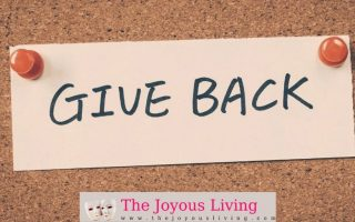 Give Back with The Joyous Living