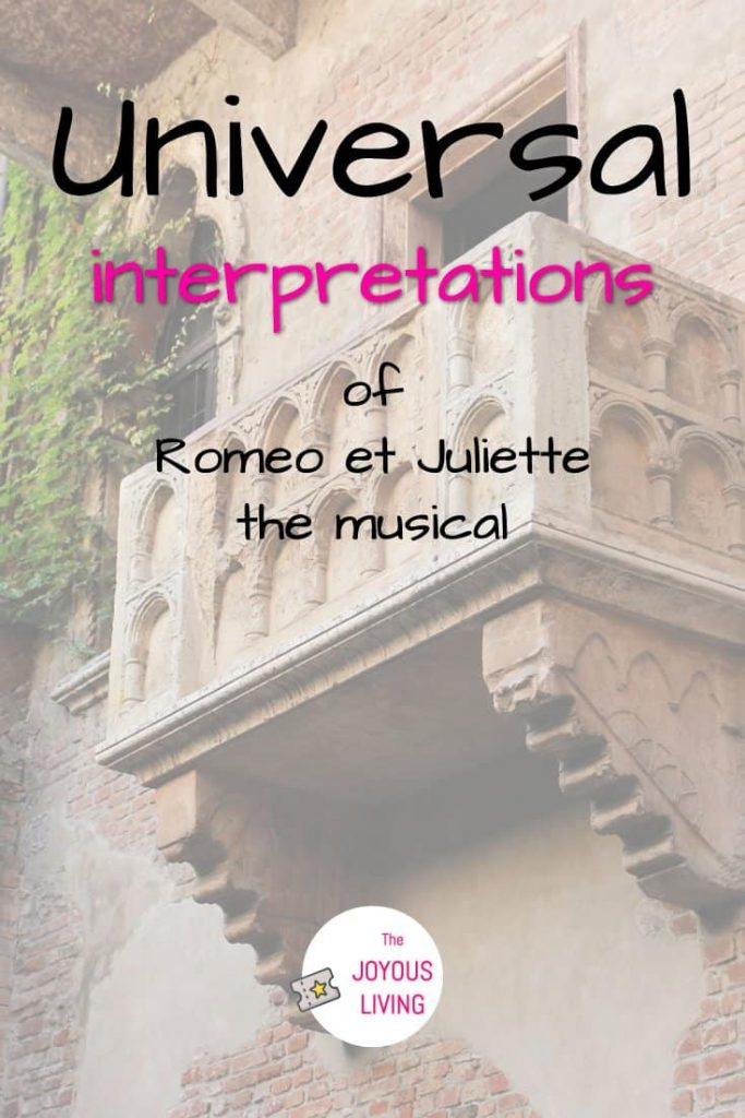 How do international interpretations compare? #atozchallenge #romeoetjuliette #romeoandjuliet #musical #theatre #broadway #french #thejoyousliving