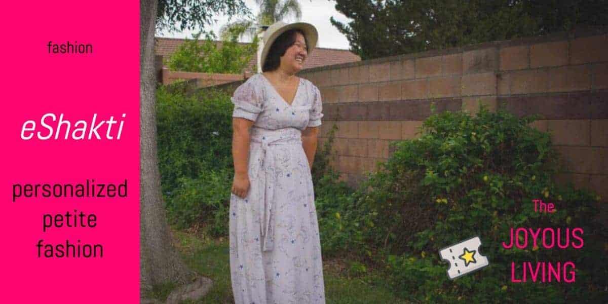 The Joyous Living: eShakti offers personalized fashion for petites and women