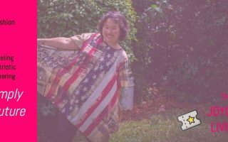 The Joyous Living: Feeling Patriotic Wearing Simply Couture from Zulily