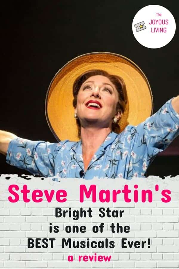 Did you know Steve Martin wrote a Broadway musical? #stevemartin #broadway #carmencusack #brightstar #musical #theatre #thejoyousliving