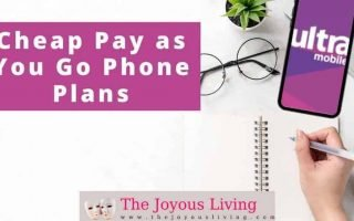 The Joyous Living: Ultra Mobile Pay as You Go Plans