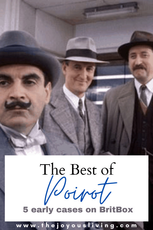 Fans of Hercule Poirot can watch the early episodes on Britbox subscription service. 5 of the best episodes of Poirot on Britbox. Where to watch Agatha Christie's Poirot tv series. One of the most beloved British dramas available to stream. David Suchet as Hercule Poirot, the beloved Belgium detective. Hugh Laurie as Captain Hastings in Poirot. #captainhastings #agathachristie #davidsuchet #poirot #britishdramas #perioddramas #britbox #thejoyousliving