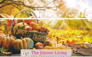The Joyous Living: Thanksgiving