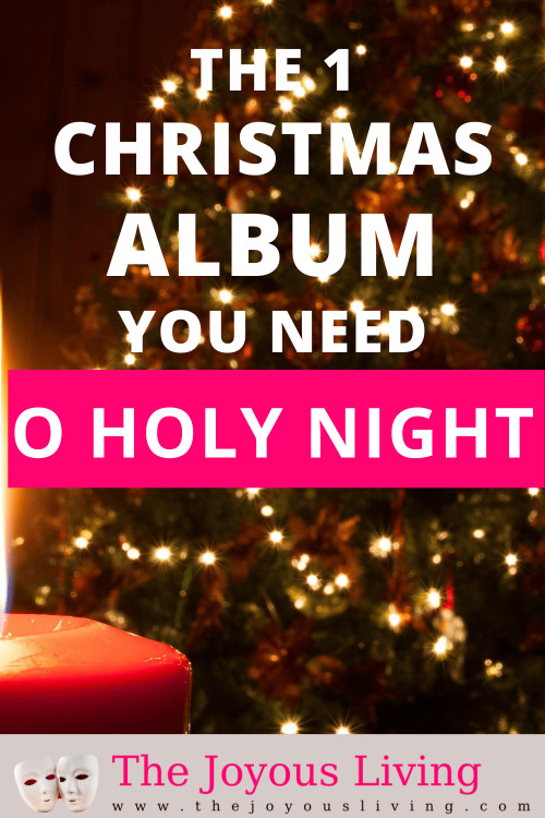 the ONE Christmas album you need. Dallyn Vail Bayles and Mindy Smoot Robbins put together a beautiful Christmas album of sacred music. A must-have Christmas album with religious music. #dallynvailbayles #christmasmusic #christmasalbum #christmasplaylist #oholynight