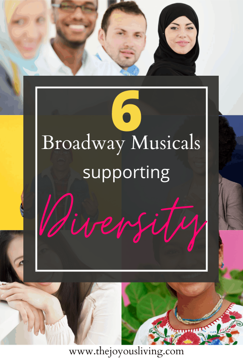 6 diverse broadway musicals. Can you name 6 broadway musicals that are written about people of color? What musicals were written for Asian actors and Hispanic actors and Black actors and Middle Eastern actors? #broadway #diversity #theatre #thejoyousliving