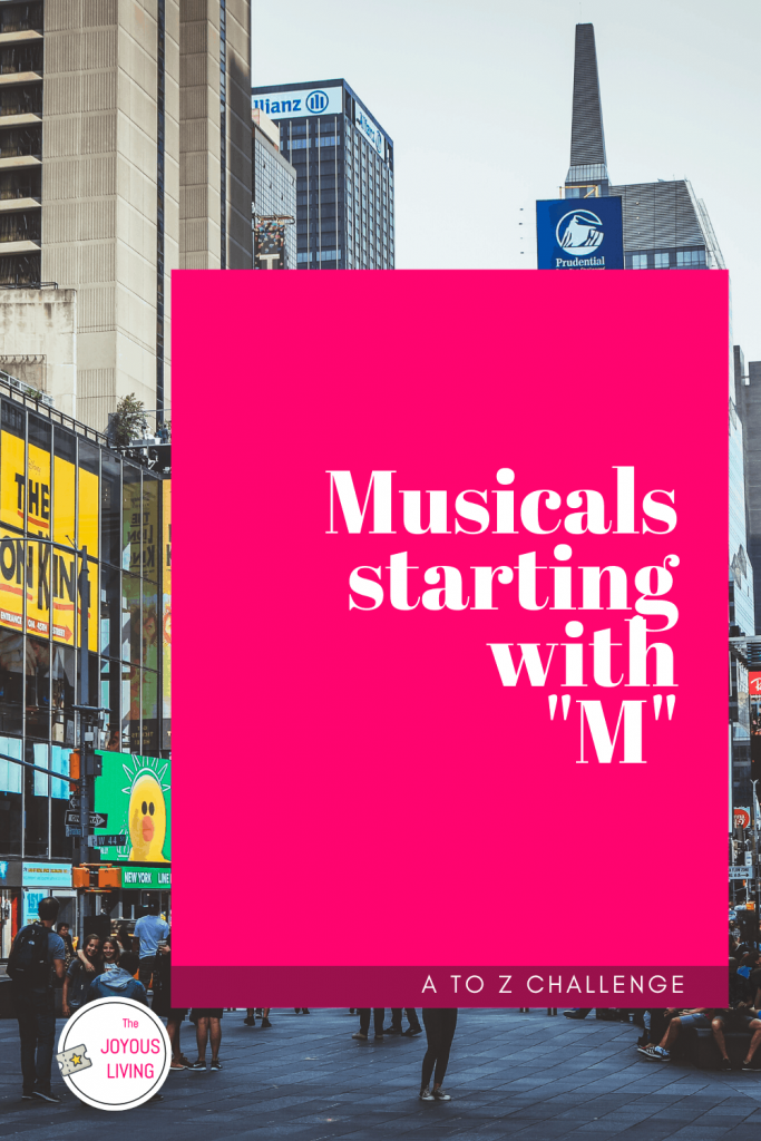 4 musical theatre songs with heart. Playlist of four broadway songs. Musical theatre songs from musicals starting with M. Favorite song from German Musical MOZART! #musicaltheatre #broadway #musicplaylist #thejoyousliving