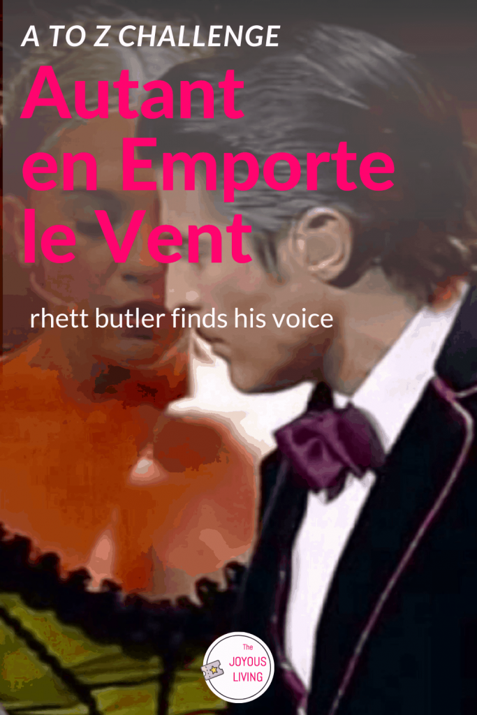 Rhett Butler Sings! #rhettbutler #autantenemportelevent #gonewiththewind #musical #theatre #theater #frenchmusicals #broadway #thejoyousliving