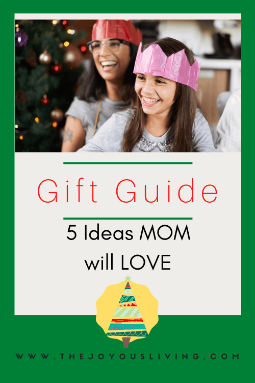 5 Gifts Mom will Love. Christmas Gift Guide for Mom.