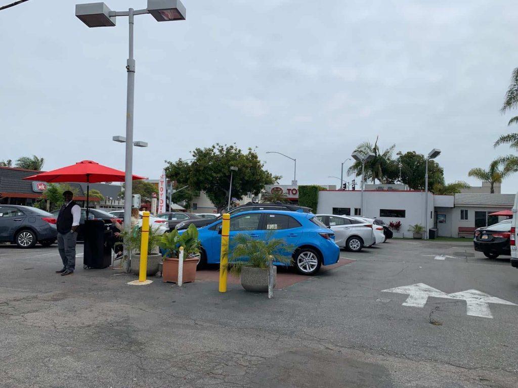 Toyota Santa Monica (C) The Joyous Living