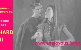The Joyous Living: 5 Reasons to See Kingsmen Shakespeare's RICHARD II