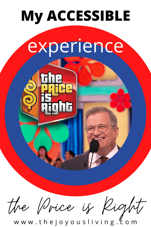 My accessible experience at The Price is Right. How accessible is The Price is Right? Audience experience at The Price is RIght taping. #thepriceisright #drewcarey #accessible #tvtaping #thejoyousliving