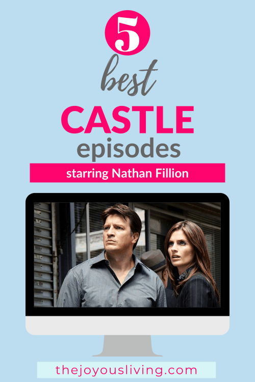 5 Best Nathan Fillion CASTLE episodes. 5 of Nathan Fillion's best episodes on CASTLE. Do you miss the chemistry between Nathan Fillion and Stana Katic? Favorite comedy sitcoms worth rewatching. Were you a fan of the Castle TV Series? Nathan Fillion best role as Richard Castle. #castle #tvshow #ABC #nathanfillion #whattowatch #thejoyousliving #entertainment