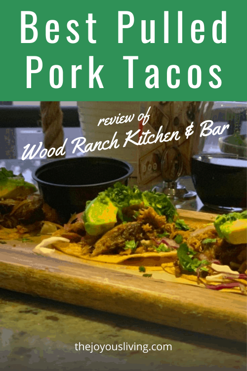 WR Kitchen & Bar is the casual sister to Wood Ranch based in Laguna Niguel and serves delicious food in a relaxing atmosphere at reasonable prices. Two thumbs up. #woodranch #lagunaniguel #restaurantreviews #pulledpork #tacos #thejoyousliving