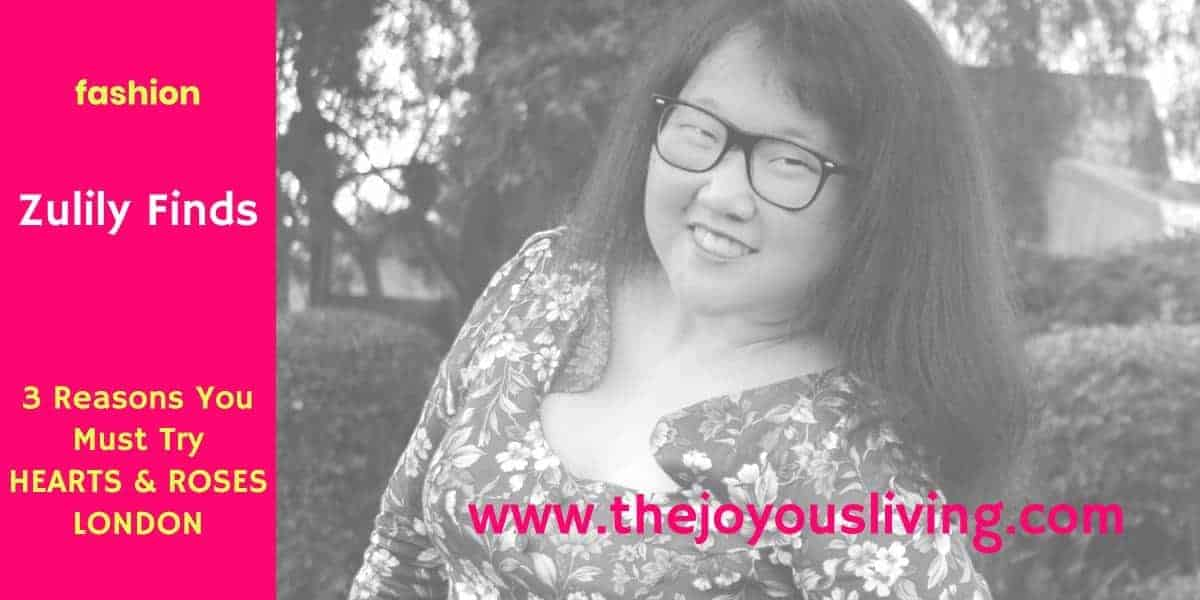 The Joyous Living: Zulily's Hearts and Roses London Affordable Fashion Review