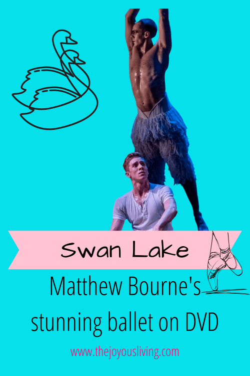 Matthew Bourne Swan Lake ballet is available on DVD. Where to watch Matthew Bourne ballet Swan Lake. Where to watch ballet. Ballet on DVD. Matthew Bourne on DVD. Swan Lake starring Will Bozier review. Review of Matthew Bourne Swan Lake ballet at Los Angeles Ahmanson Theatre. Ballet review. Matthew Bourne Review. Los Angeles Theatre Review. Gifts for Ballet Lovers. #matthewbourne #swanlake #ballet #movies #whattowatch #christmasmovies #thejoyousliving