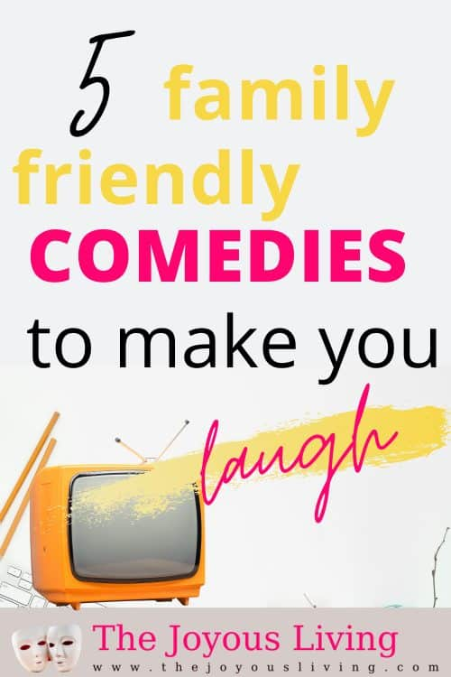 5 family-friendly comedies to make you laugh. TV comedy shows to watch with the whole family on Hulu and Amazon Prime. Comedies to watch with the whole family. #comedies #tvshows #whattowatch #thejoyousliving