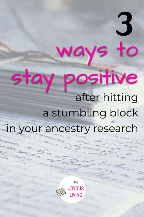 Have you hit a stumbling block with your ancestry family tree? #ancestry #familytree #genealogy #research #vanvalkenburg #thejoyousliving #atozchallenge