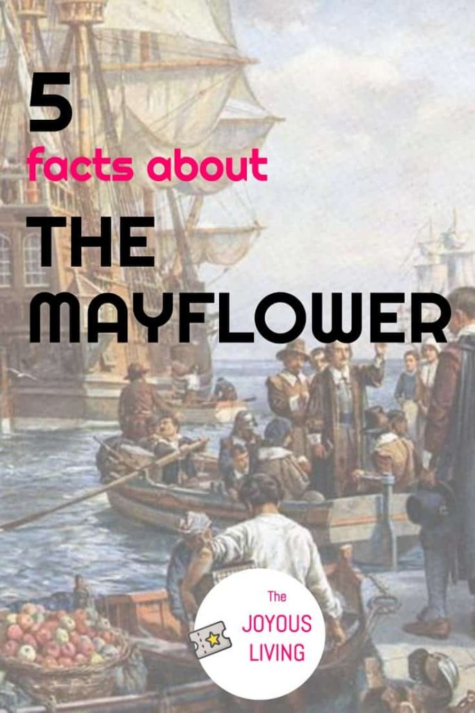 5 facts about the mayflower #mayflower #ship #america #pilgrims #plymouth #ancestry #thejoyousliving #atozchallenge