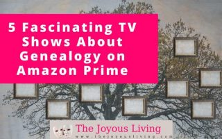 The Joyous Living: 5 tv shows to watch about genealogy on amazon prime video #atozchallenge