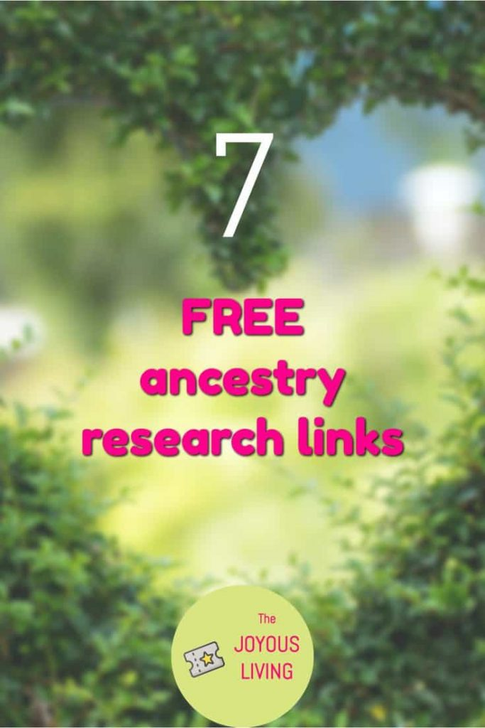 What FREE genealogical sites can I access? #atozchallenge #ancestry #free #genealogy #familysearch #thejoyousliving