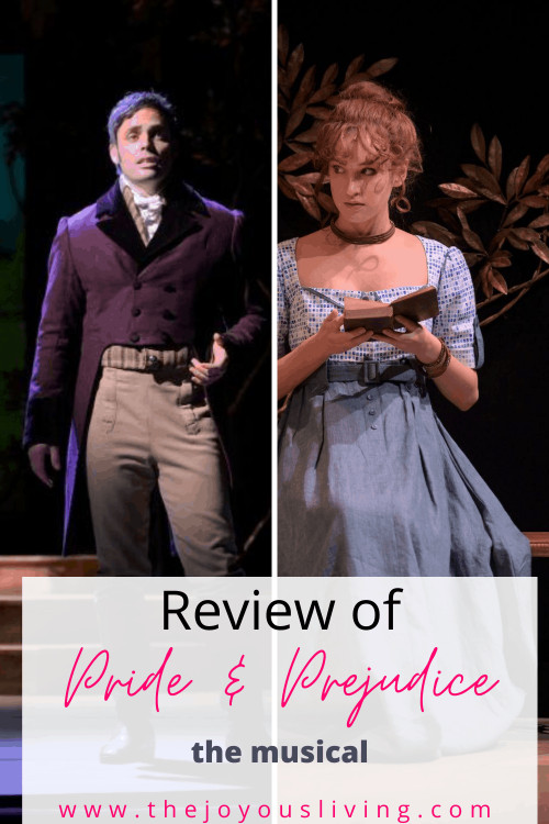 Pride and Prejudice the musical review. Imagine Mr. Darcy and Elizabeth Bennet singing. Streaming Musicals' Pride and Prejudice the Musical needs to be added to your watch list. #prideandprejudice #moviestowatch #janeausten #thejoyousliving