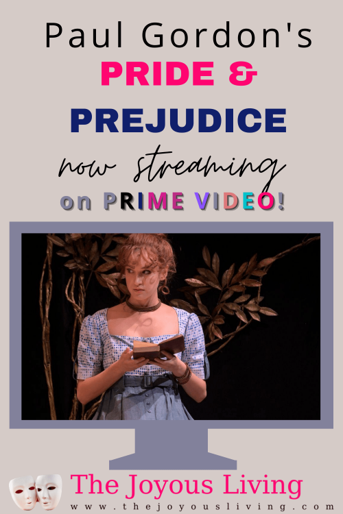 Pride and Prejudice the Musical is on Amazon Prime Video. Musicals on Amazon Prime Video. Period dramas on Amazon Prime Video. Jane Austen movies to stream on Amazon Prime Video. #janeausten #prideandprejudice #broadway #primevideo #thejoyousliving