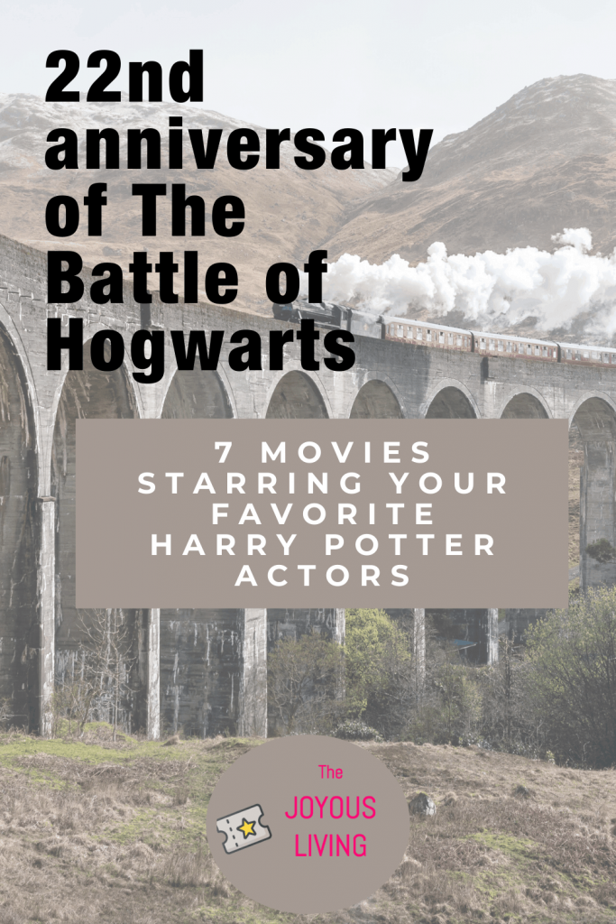 Looking for more movies starring the Harry Potter cast? #harrypotter #battleofhogwarts #hogwarts #movies #danielradcliffe #ralphfiennes #emmawatson #jasonisaac #thejoyousliving