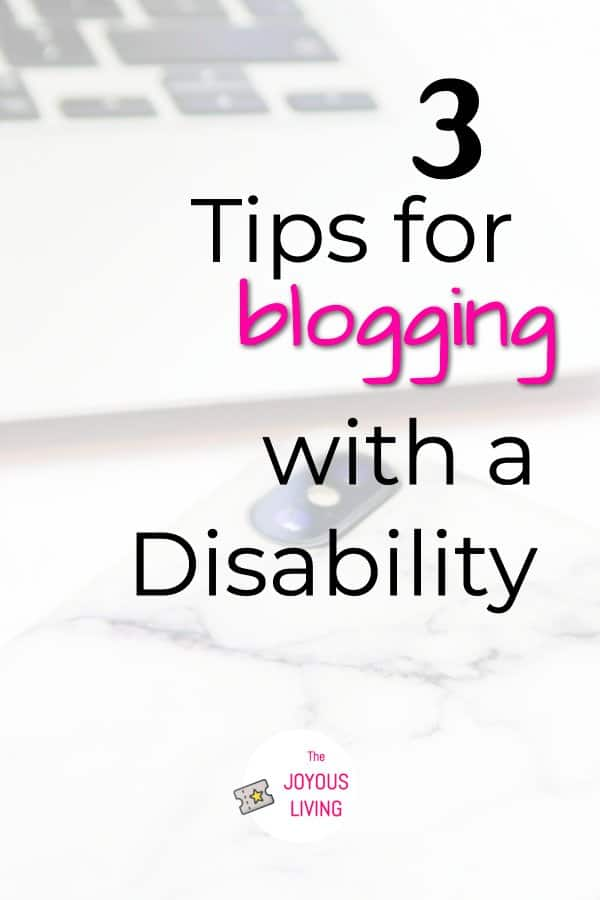 Disabled and wanting to blog? #blog #blogger #disability #disabled #fibromyalgia #bloggingtools #thejoyousliving