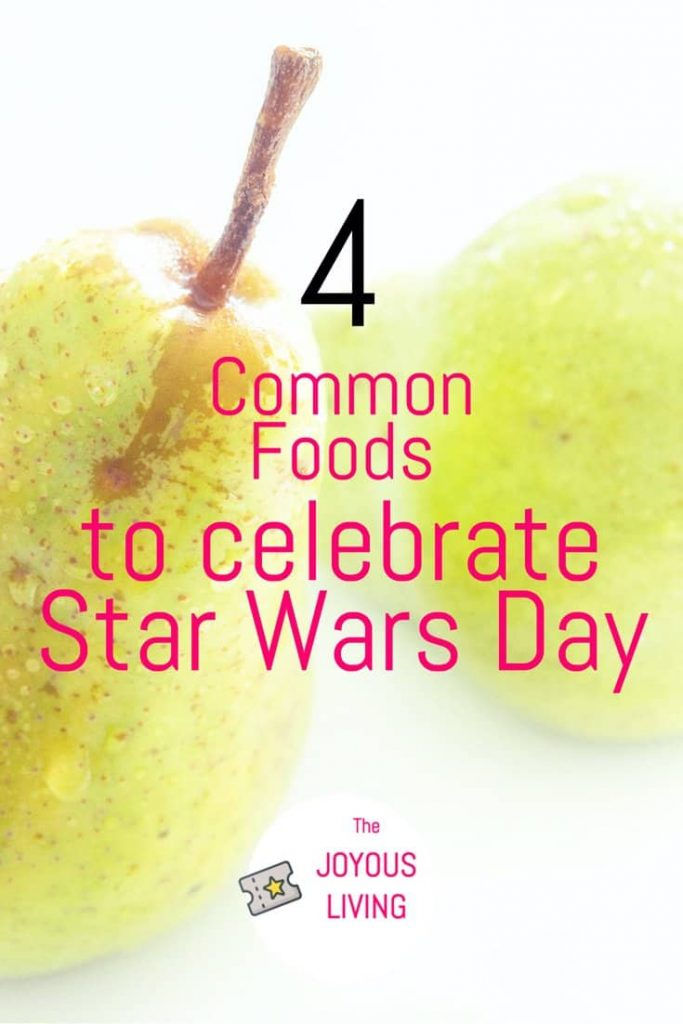Star Wars Themed Foods to Celebrate May the 4th Be With You #starwarsday #starwars #food #thejoyousliving