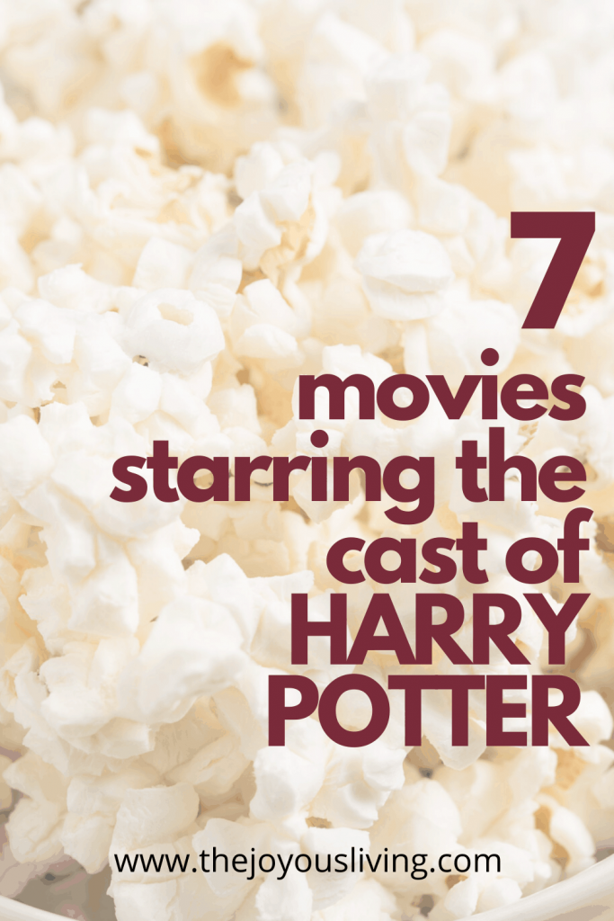 Movies featuring Harry Potter actors outside the wizarding world. 7 movies to celebrate the 22nd anniversary of the Battle of Hogwarts #battleofhogwarts #harrypotter #movies #alanrickman #ralphfiennes #danielradcliffe #thejoyousliving
