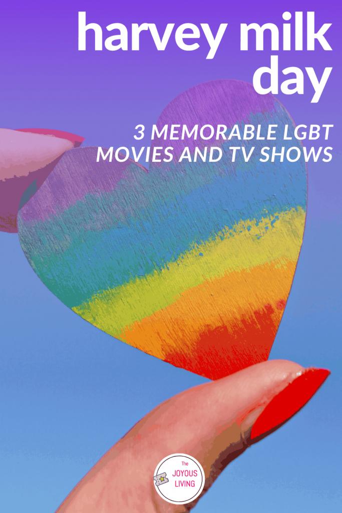 3 memorable LGBT movies #lgbt #movies #harveymilk #graceandfrankie #thattouchofmink #philadelphia #thejoyousliving